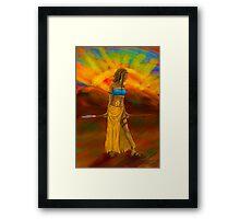 Sun Child Framed Print