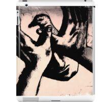 pigeon shadow iPad Case/Skin