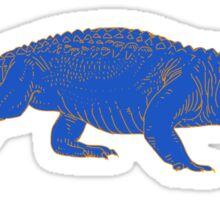 BLUE Gator Sticker