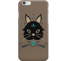 Black Bunny iPhone Case/Skin