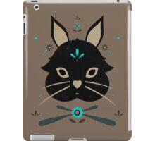 Black Bunny iPad Case/Skin