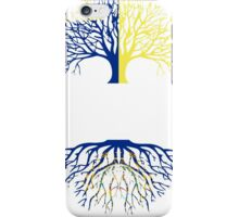 OREGON GROWN WITH NEW HAMPSHIRE ROOTS iPhone Case/Skin