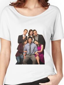 How I Met Your Mother - Final Cast Women's Relaxed Fit T-Shirt