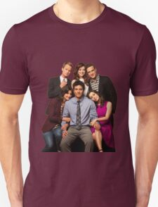 How I Met Your Mother - Final Cast Unisex T-Shirt