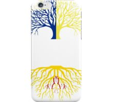 OREGON GROWN WITH NEW MEXICO ROOTS iPhone Case/Skin