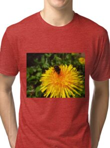 Busy Busy Bumble Bee  Tri-blend T-Shirt