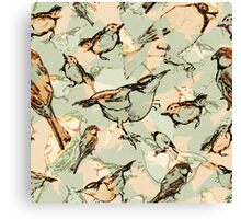 The Conference of the Birds Canvas Print