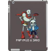 Papyrus and Sans (Undertale) iPad Case/Skin