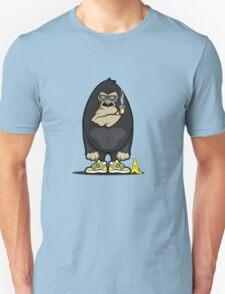 Smoking kong Unisex T-Shirt