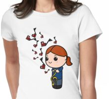 Duets are Better 1 Womens Fitted T-Shirt