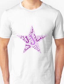 Word Art J Unisex T-Shirt