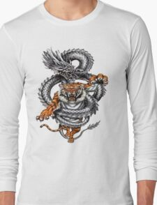 The tiger and the dragon Long Sleeve T-Shirt
