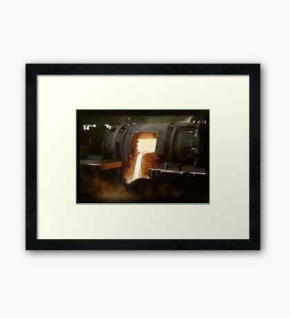 [Untitled] (Steel mill), ca. 1940 Framed Print