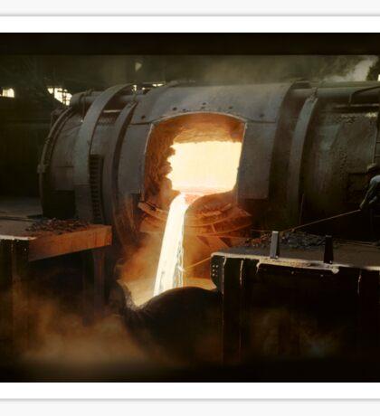 [Untitled] (Steel mill), ca. 1940 Sticker