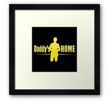 daddy's home the movie Framed Print