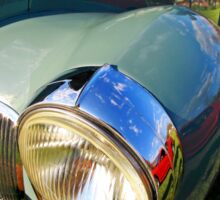 Classic car headlight 2 Sticker
