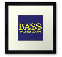 Yellow Bass Obsession Framed Print
