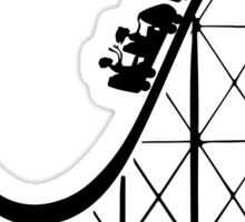 RCT Roller Coaster Tycoon silhouette Sticker