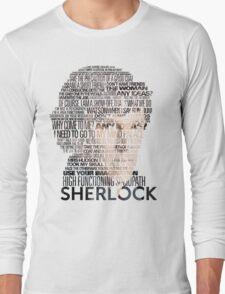 Sherlock Quotes Long Sleeve T-Shirt