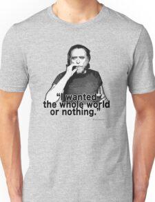 Charles Bukowski 4 Unisex T-Shirt