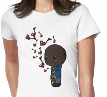 Duets are Better 7 Womens Fitted T-Shirt