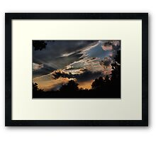 Clouds 10 Framed Print