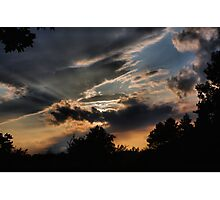 Clouds 10 Photographic Print