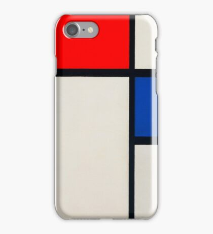 piet-mondrian-dutch--title-composition-no-ii.  iPhone Case/Skin