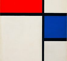 piet-mondrian-dutch--title-composition-no-ii.  by Adam Asar