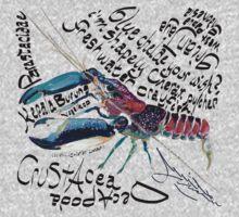 Cherax pulcher, freshwater crayfish One Piece - Long Sleeve
