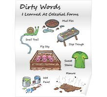 Dirty Words Poster