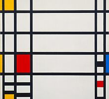 Piet Mondrian, Dutch, Title Trafalgar Square. by Adam Asar