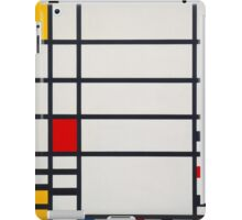 Piet Mondrian, Dutch, Title Trafalgar Square. iPad Case/Skin