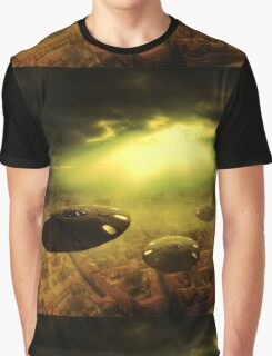 Invasion Earth by Raphael Terra Graphic T-Shirt