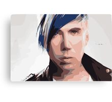 Marianas Trench Josh Ramsay Abstract Canvas Print