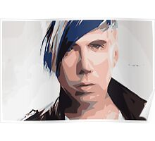 Marianas Trench Josh Ramsay Abstract Poster