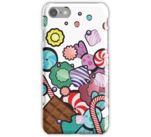 Jar with sweet candies iPhone Case/Skin