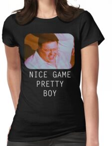 Nice Game Pretty Boy Womens Fitted T-Shirt