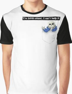Pocket Sans Undertale Graphic T-Shirt