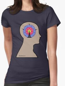 Worry Womens Fitted T-Shirt