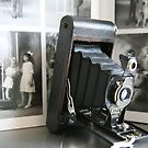Of its time ....Antique Kodak Folding Autographic Brownie  by LynnEngland