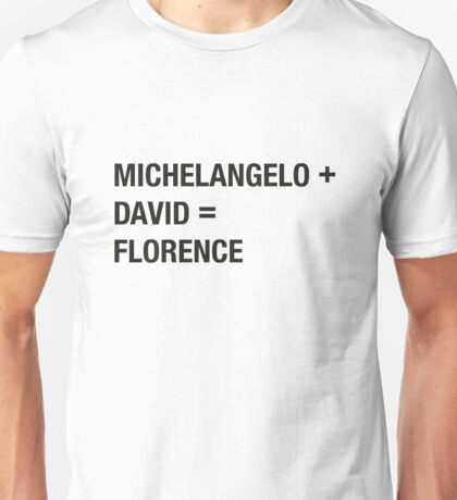 Buonarroti Unisex T-Shirt