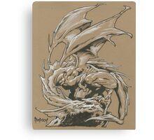 Dragon Classic Canvas Print