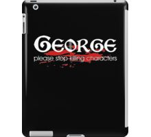 Game of Thrones George R R martin iPad Case/Skin