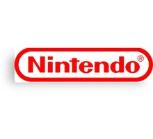 Nintendo logo HQ Canvas Print