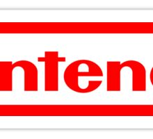 Nintendo logo HQ Sticker