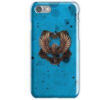 Blue Ink Blots iPhone Case/Skin