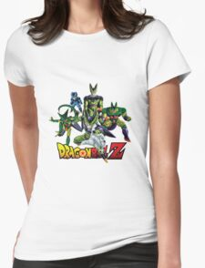 Dragon Ball Z All Star - Cell Evolution Womens Fitted T-Shirt