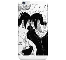 itatchi and sasuke iPhone Case/Skin