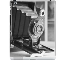 Vintage ...Autographic Brownie in monochrome  iPad Case/Skin